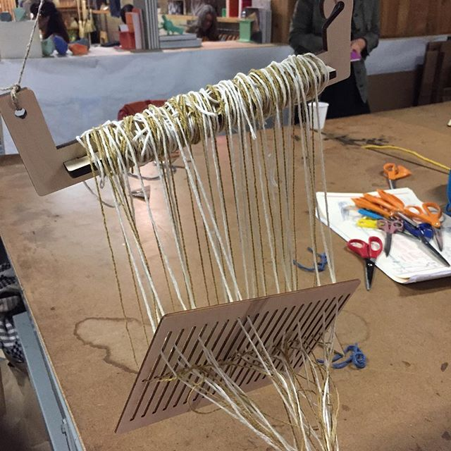Learning #weaving to better understand how to go about my #portraits project #sf #art #blog