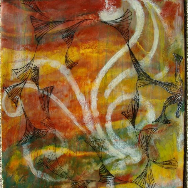 Found an image of early #encaustics painting that was sold last year at union square #blog